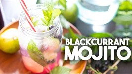 Blackcurrant Mojitos