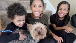 The Kids Love Their Dog