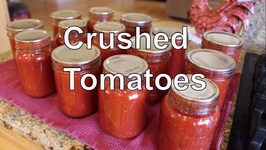 Home Canning Crushed Tomatoes