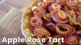 Apple Rose Tart - 12 Days Of Christmas