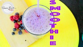 Back To School Smoothie - Drynk -Berry Smoothie Recipe Almond Milk