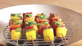 Easy Chicken And Bell Peppers Skewers for Labor Day