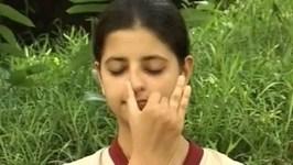 Yoga For Diabetes - Chandra Nadi Pranayama - Blood Purifier