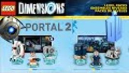 Lego Dimensions - Dr Who, Portal 2, Fun Packs