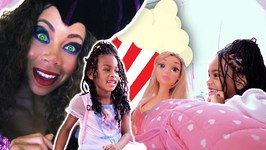 Sleepover at Toy Teacher Maleficent's! Food Pranks with Funny Kids Pretend Play Food