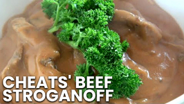 Cheats' Beef Stroganoff - Slow Cooker Recipe