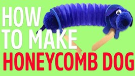 How To Make: Honeycomb Dog With Mister Maker