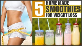 5 Quick And 5 Best Smoothies For Weight Loss At Home With Spinach, Peanut Butter, Vegetables And Fruits