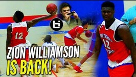 The Zion Williamson Show IS BACK and Hes WEARING WHAT?
