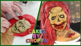 Zombie Girl Cake - Inspired By Lounatuna (How To)