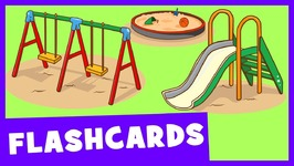 Learn Park and Playground Vocabulary - Talking Flashcards