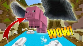 Minecraft Build Battle - IF PIGS COULD FLY!!