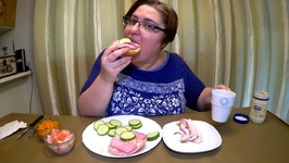 Ham Sandwich Lunch/ Let's Talk About MY DYSLEXIA /Gay Family Mukbang - Eating Show