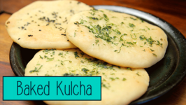 How To Make Kulcha At Home  Baked Kulcha Recipe  Divine Taste With Anushruti
