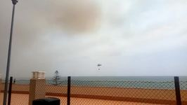 Emergency Services Fight Massive Fire at Spain's Donana National Park