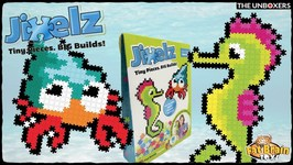Jixelz Sea Friends Pixelated Puzzle