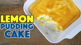 Lemon Pudding Cake So Great - You'll eat The Whole Pan