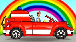 Helpy the Truck and a Fire Truck for Kids- Baby Cartoon