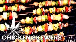 Easy Chicken Skewers