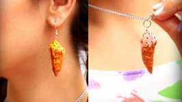 DIY Ice Cone Polymer Clay Jewelry Ideas