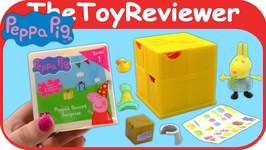 The Peppa Pig Secret Surprise Blind Bags Box Present Mystery Unboxing Toy Review