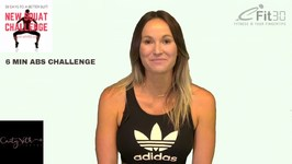 Pilates Hard Core 6 minute ABS Workout - Caity