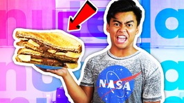 DIY How To Make NUTELLA SANDWICH