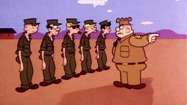 S01 E10 - Don't Fiddle with the Brass/The Red Carpet Treatment/Zero's Dizzy Double Date/Dr. Jekyl and Beetle Bailey - Beetle Bailey