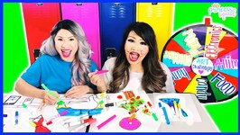 First To Finish Art School Wins! Back To School Challenge