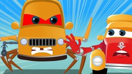 Spider Car - Super Car Royce - Cartoon Videos For Babies by Kids Channel