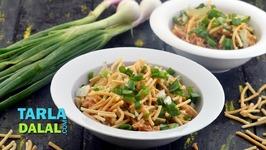 Stewed Rice In Manchurian Gravy - Hindi