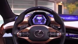 Lexus LF-1 Limitless Interior Design