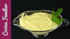 Como hacer mayonesa sin huevo - Como se hace la lactonesa