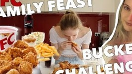 Competitive Eater Polishes Entire KFC Family Meal in Under Fifteen Minutes