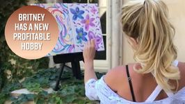 Britney Sells Her Painting For 10,000