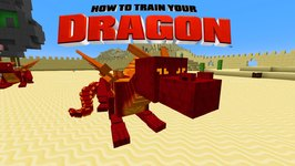Minecraft - HOW TO TRAIN YOUR DRAGON - Fire Dragons! 39