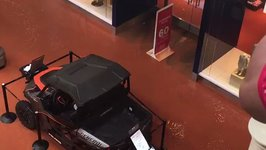 Flood Water Swamps Oklahoma City's Penn Square Mall