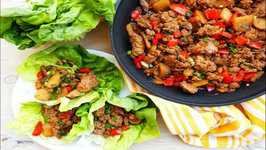 Dinner Recipe- Asian Style Turkey Lettuce Wraps