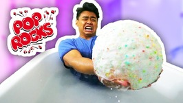 DIY GIANT POP ROCKS BATH BOMB