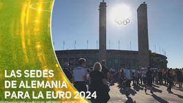 Alemania presenta las sedes para optar a la Euro 2024