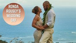 Ronda Rousey's Wedding Photos Will Make You Cry