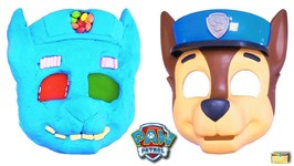 Making PAW PATROL CHASE with Kinetic Sand- PEZ- Slime-Mask- Surprise Toy Games - LEARN COLORS