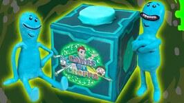 Mr Meeseeks Box Cake - GlobalRickAndMortyDay