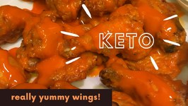 Keto Spicy Buffalo Chicken Wings- Dollar Tree Wing Sauce