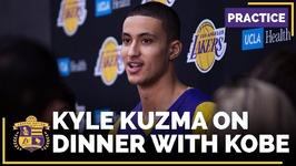 Lakers Rookie Kyle Kuzma Has Dinner With Kobe Bryant