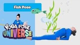 Fish Pose -Yoga Pose Universe