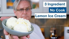 3 Ingredient No Cook Lemon Ice Cream