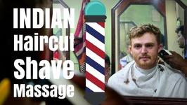 Haircut in India - Indian Barber hair cut, beard shave and head massage in Kolkata