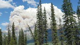 Wildfire Closes Hiking Trails at Western Canadian National Parks
