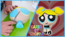 Bubbles Cake - Powerpuff Girls (How To)
